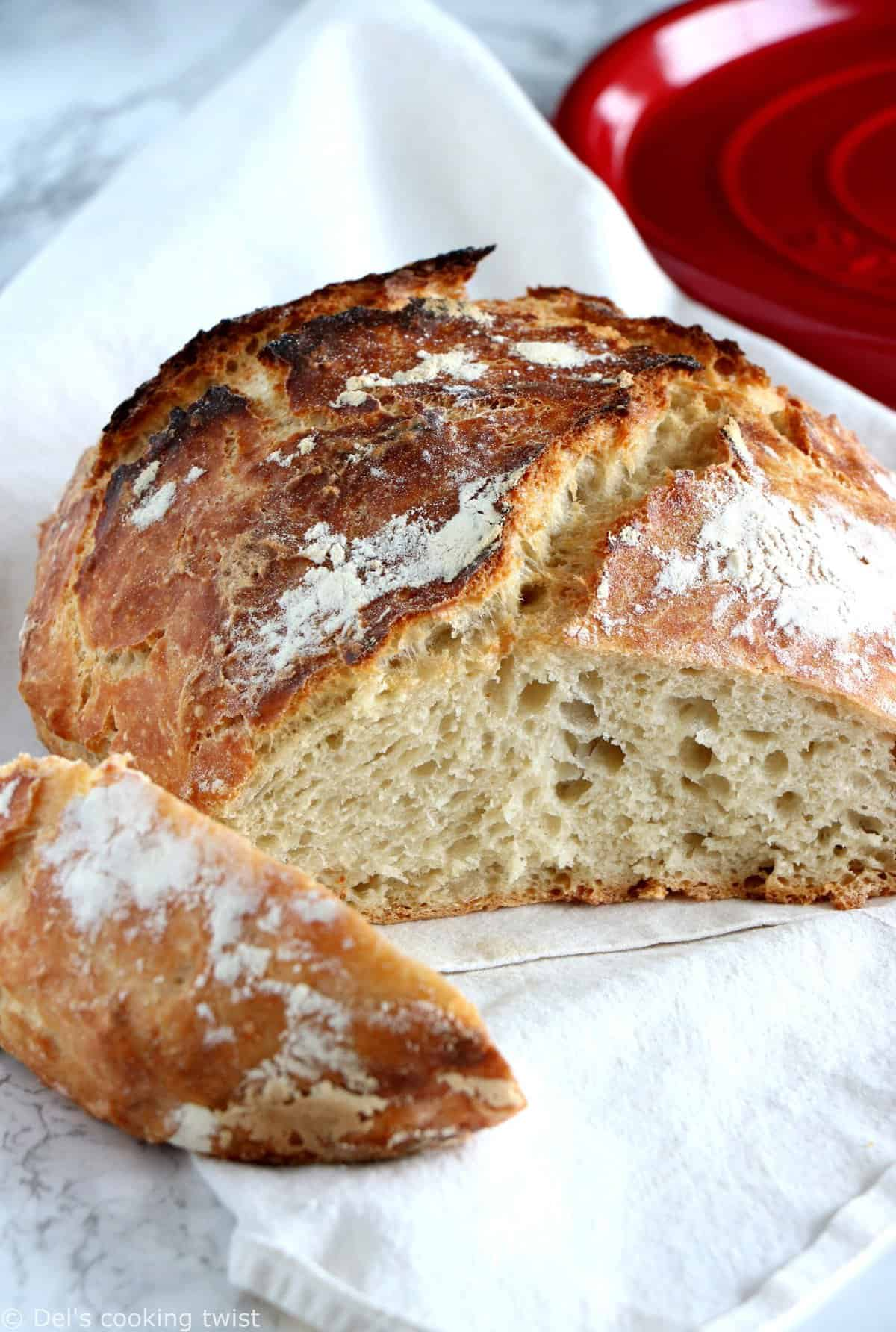 Easy Classic No-Knead Bread